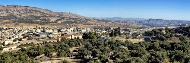 Panorama view Fez