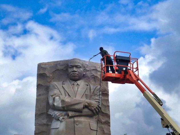 Martin Luther King Jr. krijgt een opfrisbeurt