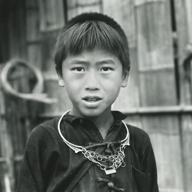 Zwarte Mong jongen