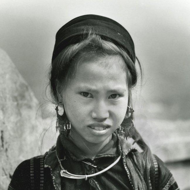Zwarte Mong meisje