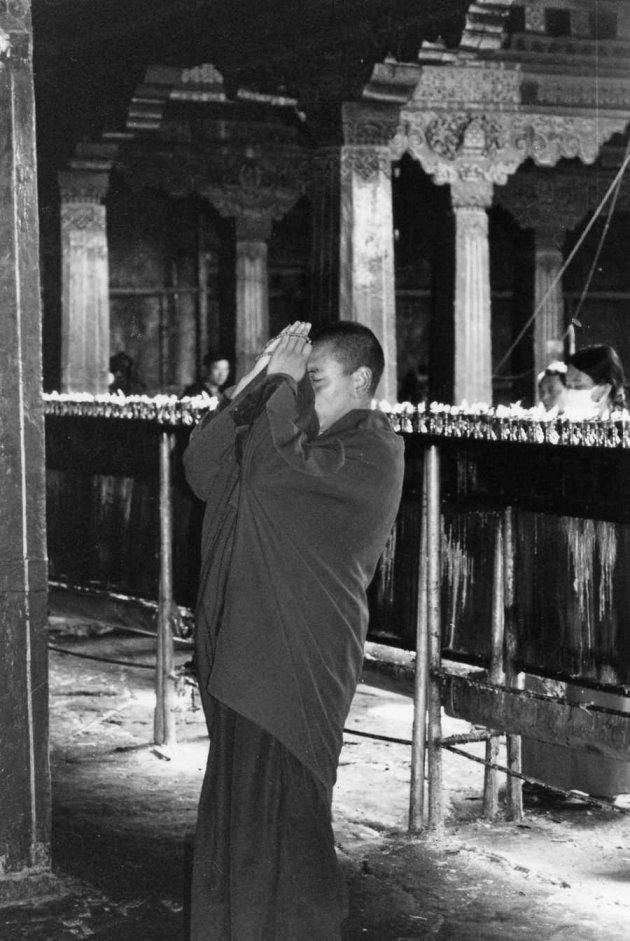 Boterlampjes en devotie in de Jokhang tempel