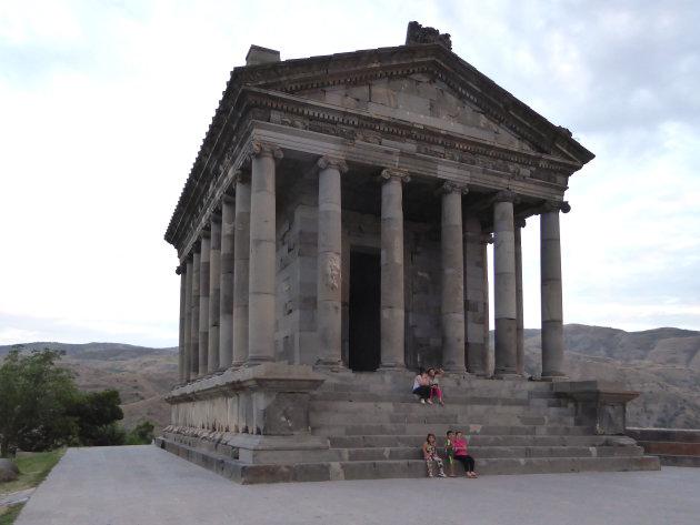 Grieks Romeinse tempel