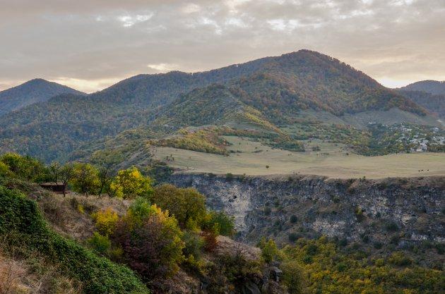 Hiken door de Kaukasus