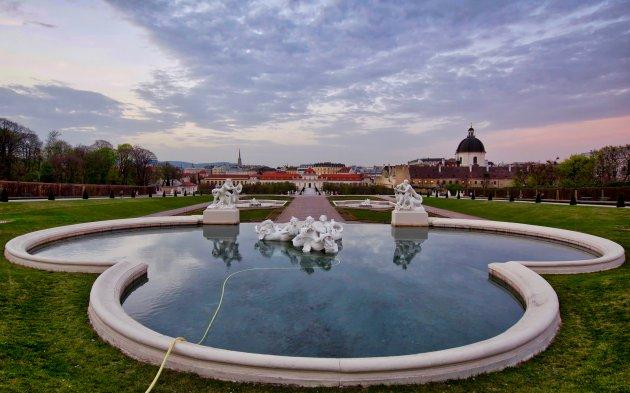 Tuin Schloss Belvedere