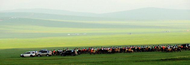 Paardenrace-Nadaam