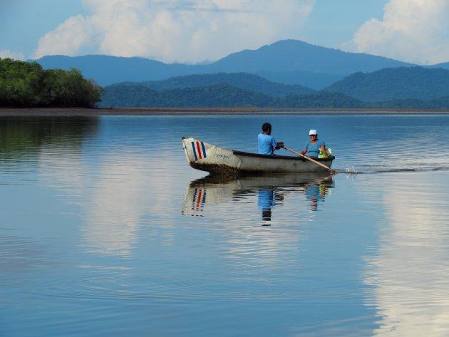 Het vissersbootje in Ensanada