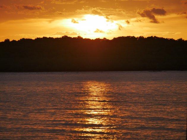 Zonsondergang in Manzanillo