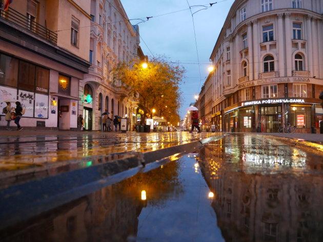Straten van Zagreb