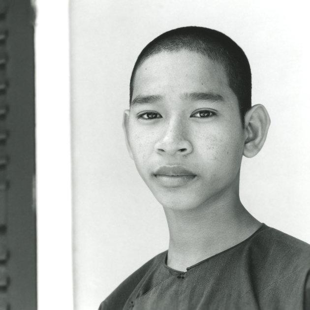 Monnik in Danang