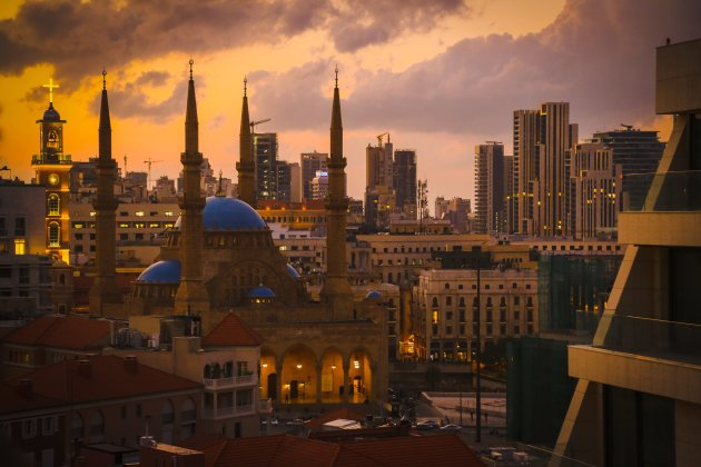 Beirut by sundown