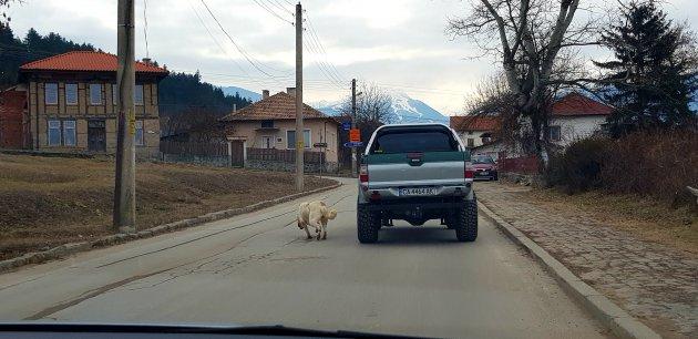 Bulgarije en interessante autouitzichten.