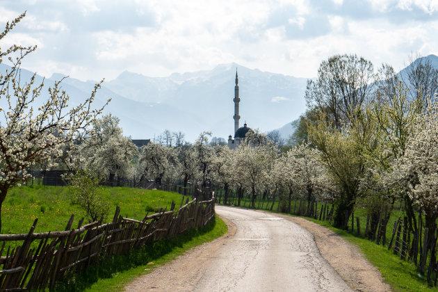 Over kleine wegen naar Albenië