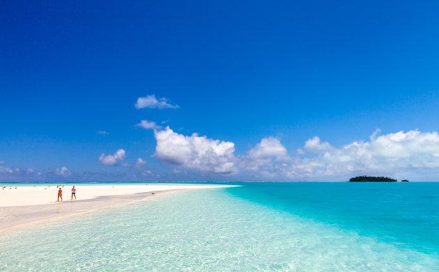 Relaxen op Aitutaki