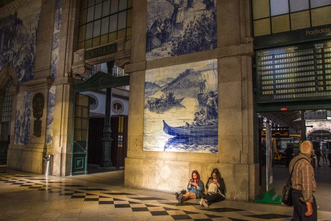 Het station van Porto