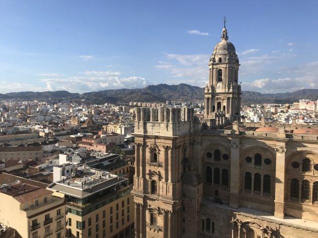 Mooi uitzicht over Malaga