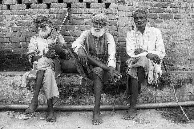 Sadhus or musicians