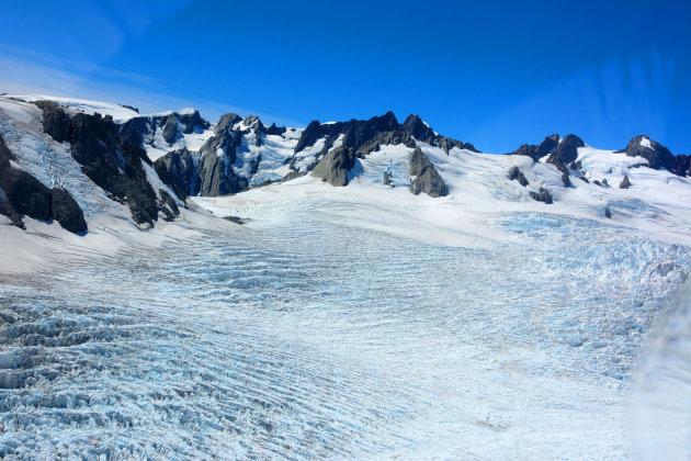 Boven de Fox Glacier