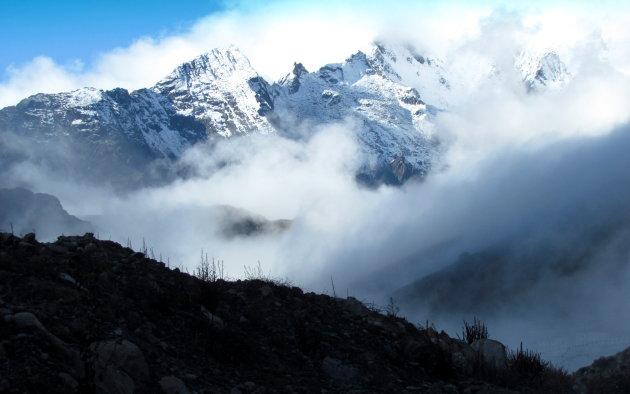 Rand van Tibetaans Plateau