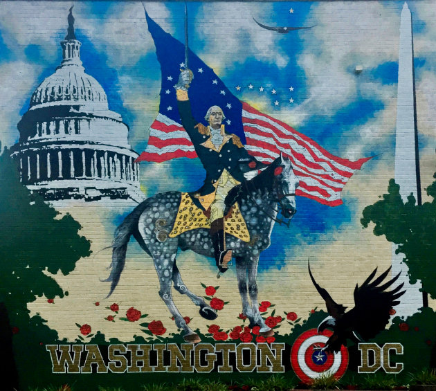 Mural George Washington