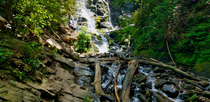 Mingo Falls - Great Smokey Mountains