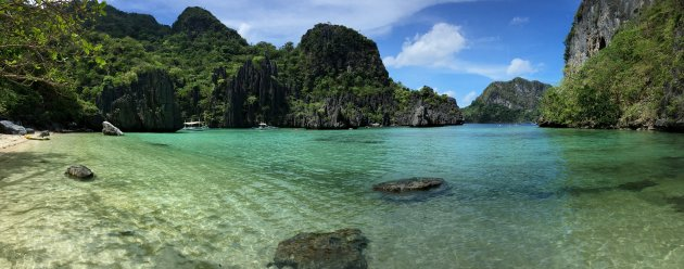 Panorama Cadlao lagune