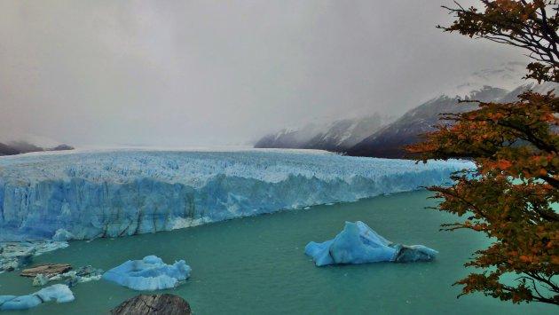 Perito Moreno in herfst