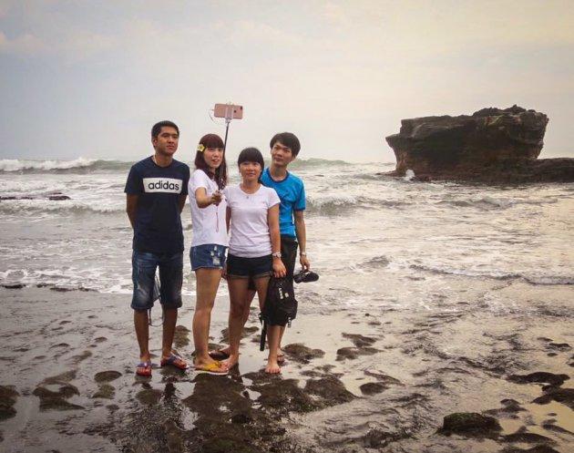 Hogere selfiekunde op Bali
