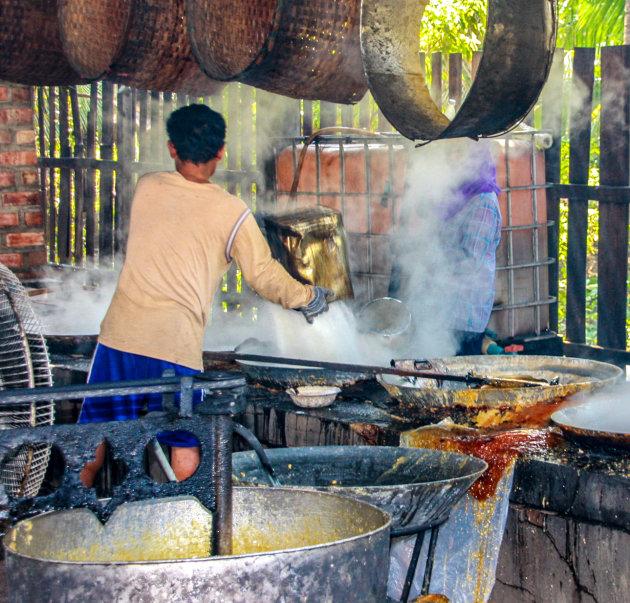 Palmsuiker maken