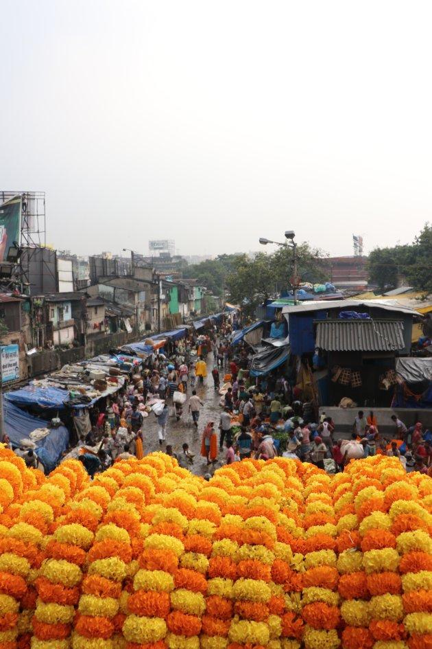 Bloemen in Kolkata