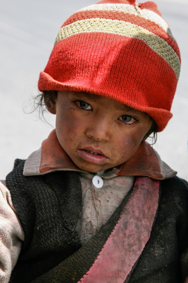 Traantjes in Tibet