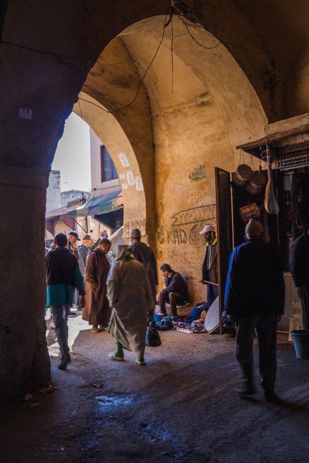 Slenteren door Meknes