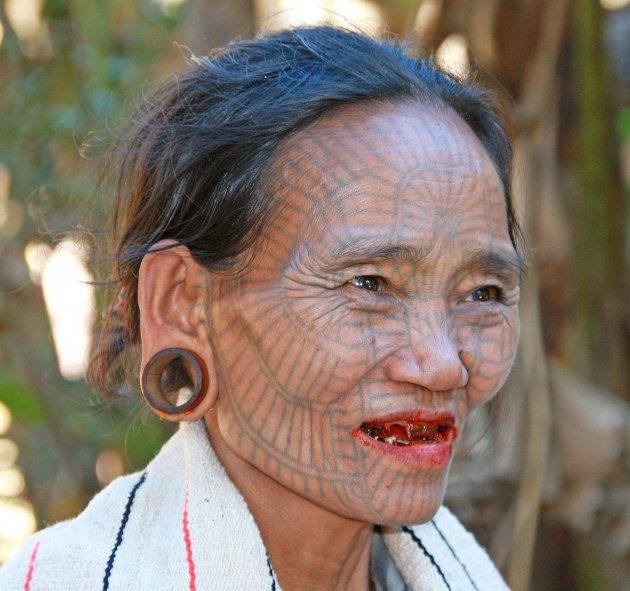Chin vrouw