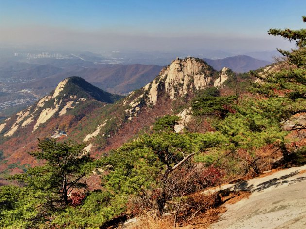 Hiken in Bukhansan national park