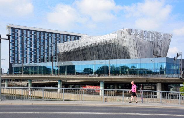 Moderne architectuur in Stockholm