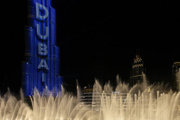 lichtshow Dubai
