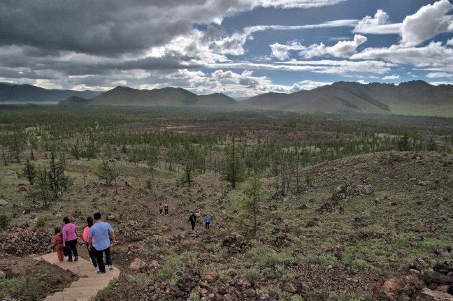 Khorgo-vulkaan