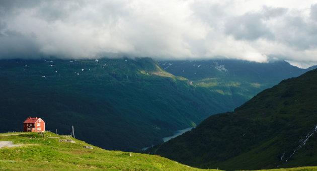 Zo maar ergens in Noorwegen