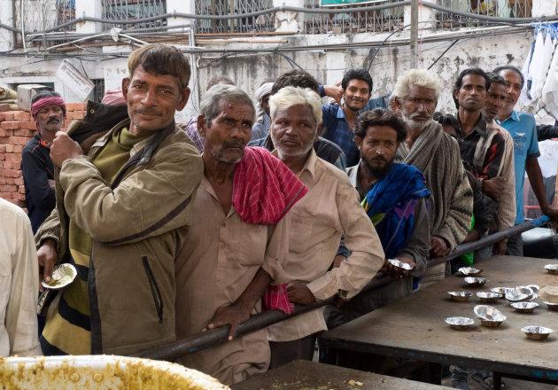 Free food in Delhi