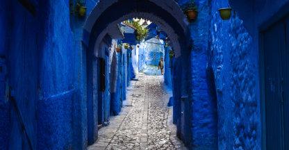 Het blauw van Chefchaouen