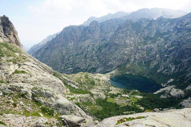 Het hooggebergte van Corsica