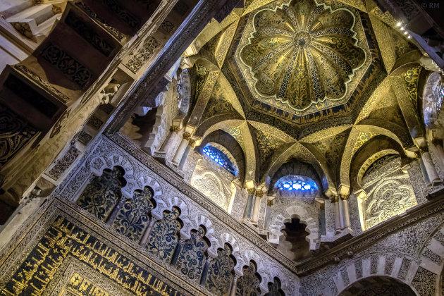 De diverse stijlen van de Mezquita in Córdoba