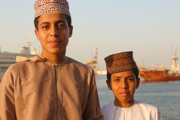 wandelen langs de Corniche