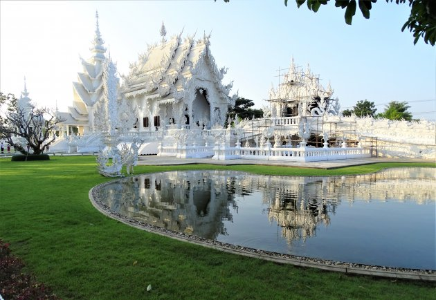 De Witte Tempel in Chiang Rai.