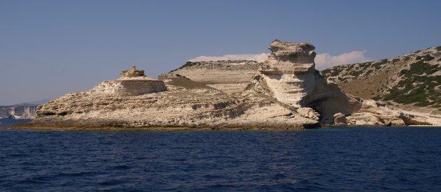 Bijzondere kalksteen kliffen