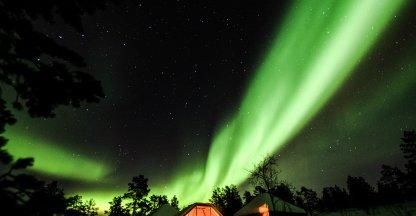 Waanzinnig Aurora Borealis