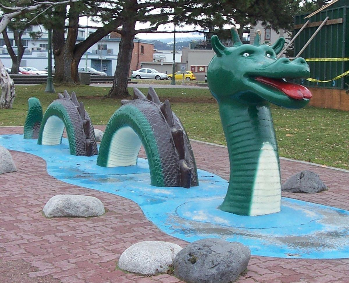 Ogopogo, het monster van Lake Oganakan