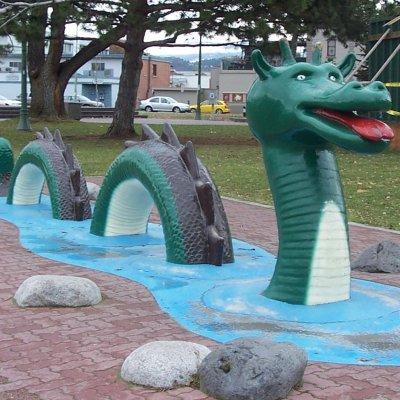 Voorvertoning Ogopogo, het monster van Lake Oganakan