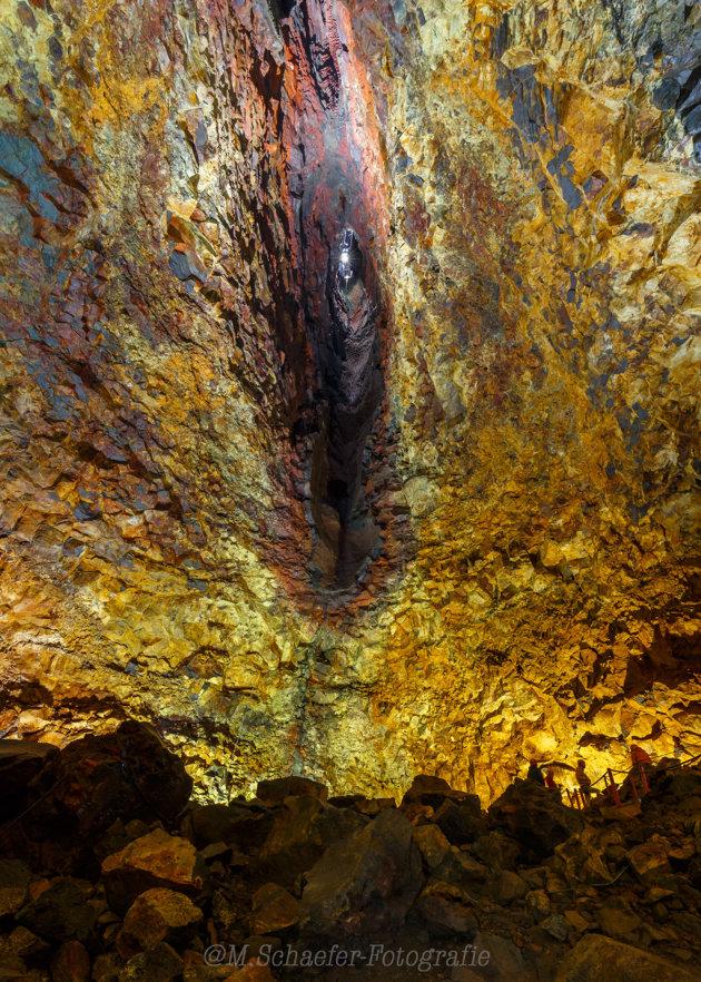 IJsland Inside The Volcano