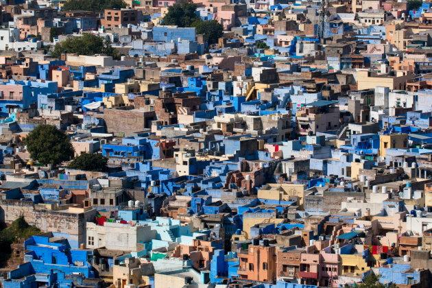 Verdwaal in de gekleurde steden van Noord-India