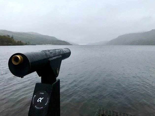Turen over het meer van Loch Ness...